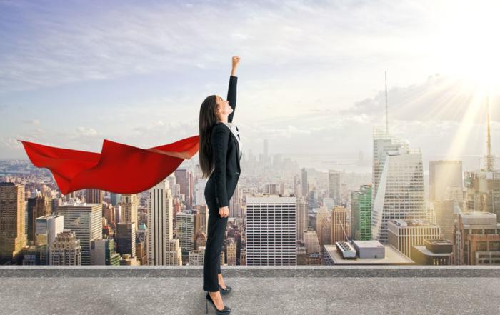 female leader superhero